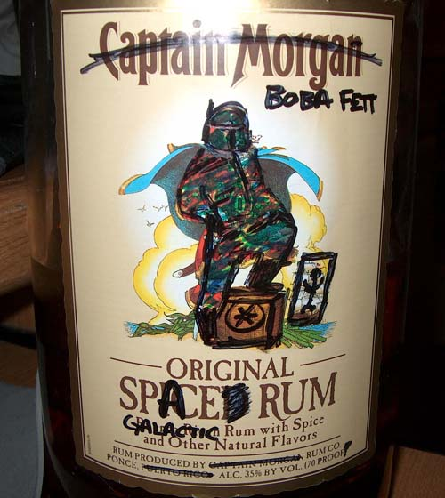 Boba Fett Spaced Rum